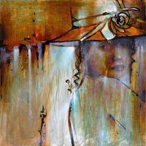 Porträtmalerei, Gemälde, Person, Gesicht