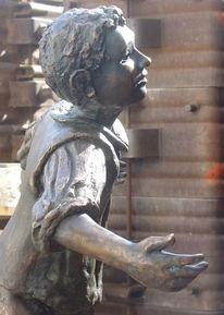Hänsel, Plastik, Kind, Skulptur