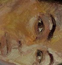 Realismus, Menschen, Selbstportrait, Malerei