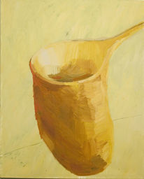 Gelb, Temperamalerei, Ocker, Gegenständlich