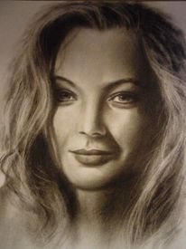 Menschen, Ölmalerei, Malerei, Frau