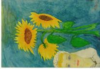 Kelly, Sonnenblumen, Gnade, Zeichnungen