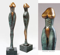 Model, Korsett, Skulptur, Mode