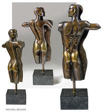 Bronze, Skulptur, Tanz, Relief