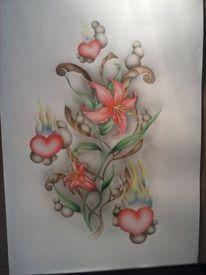Blumen, Lilie, Flammen, Schönheit