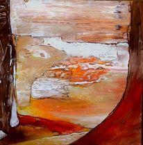 Fantasie, Landschaft, Wächter, Malerei