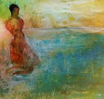 Wasser, Morgen, Bad, Meerjungfrau