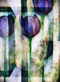 Digitale kunst, Tulpen