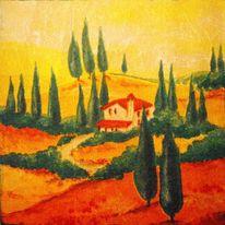 Platte, Natur, Toskana, Seele