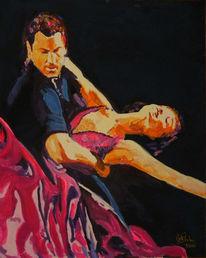 Tanzpaar, Gemälde, Tanz, Stern