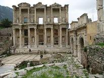 Ephesos, Bibliothek, Fotografie, Türkei
