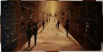 Galerie menschen abstrakt, Malerei