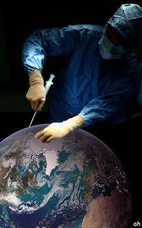 Eis, Schönheitschirurg, Erde, Polkappen