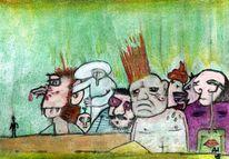 Social network, Albtraum, Zusammensein, Menschen