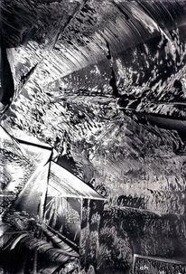 Eis, Elemente, Zerstörung, Wasser