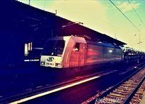 Güterzug, Zug, Wirtschaft, Menschen
