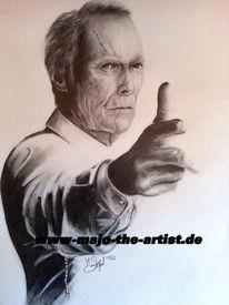 Tv, Grandeastwood, Zeichnung, Clint
