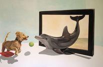 Acrylmalerei, Malerei, 3d,