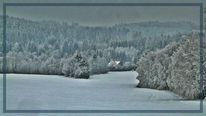 Schnee, Landschaft, Frost, Winter