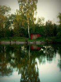 Spiegelung, Wasser, See, Fotografie