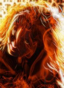 Feuer, Digitale kunst