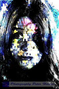 Farben, Puzzle, Fotografie