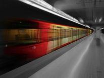 Ubahn, Nürnberg, Tunnel, Fotografie