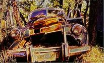 Auto, Vergänglichkeit, Alt, Digitale kunst