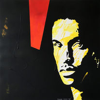 Menschen, Portrait, Gesicht, Malerei