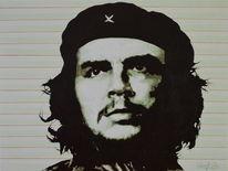 Acrylmalerei, Che, Guevara, Pop