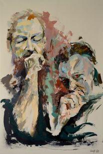 Gemälde, Zeitgenössisch, Abstrakt, Acrylmalerei
