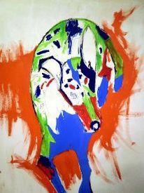 Acrylmalerei, Popart, Kurzhaar collie, Malerei