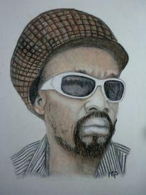 Portrait, Pastellmalerei, Reggae, Zeichnungen