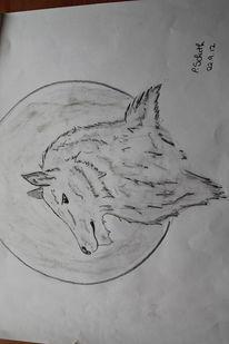 Zeichnungen, Vollmond