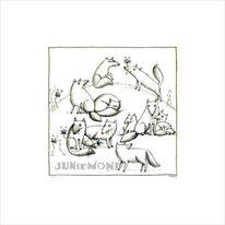 Fuchs, Zeichnung, Polarfüchse, Schnee