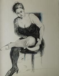 Malerei, Zeichnung, Gazmend freitag drawings, Figurativ