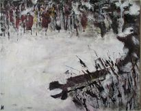 Winter, Malerei