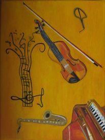 Malerei, Musik