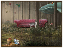 Traum, Natur, Vogel, Fantasie