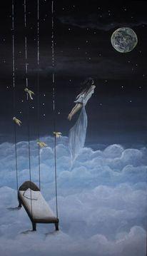 Malerei, Lichtblicke, Träumerin