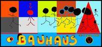 Bauhausstil, Bauhausmeister, Johannes itten, Bauhaus