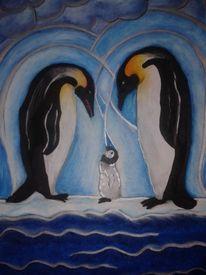 Tiere, Malerei, Freunde, Geborgen