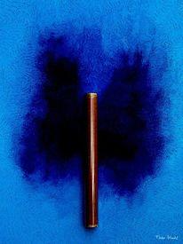 Blau, Symbolik, Malerei, Ölmalerei