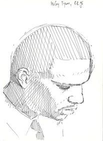 Jazz, Mccoy tyner, Zeichnung, Zeichnungen