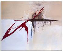 Abstrakt, Beige, Malen, Modern