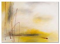 Modern, Acrylmalerei, Wandbilder, Rot