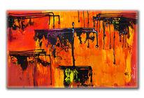Kunstdruck, Wandbild, Abstrakt, Malerei