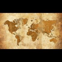 Abstrakt, Kunstdruck, Digital, Weltkarte