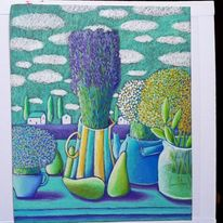 Lavendel, Sommer, Gelassenheit, Obst