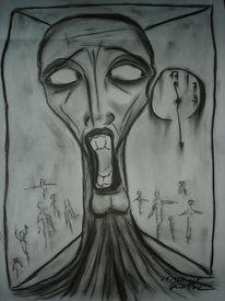 Menschen, Depression, Seele, Abgrund